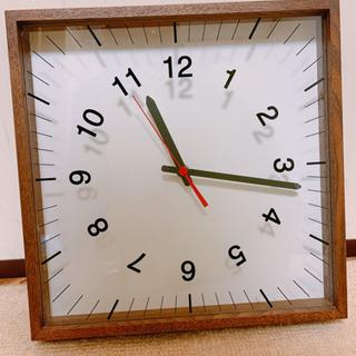 木目調インテリア掛け時計