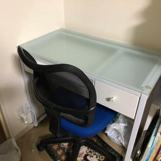 パソコンデスク ネイルデスク 椅子セット