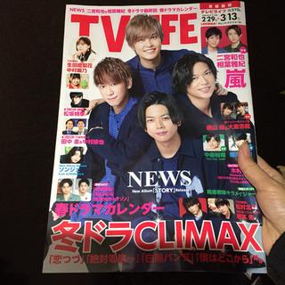 TVライフ首都圏版 2020年 3/13号 news 嵐 ジャニーズ