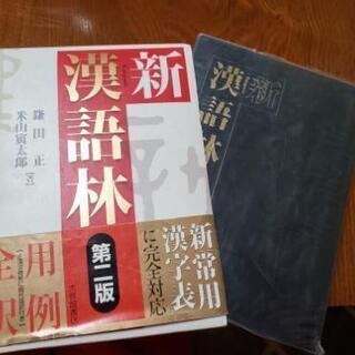 漢語林 大修館書店 辞書
