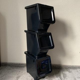 キャリコ Sサイズ ブラック 3つセット