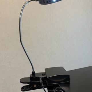 【美品】フック付きLEDライト(28個)可変スタンド - 相模原市