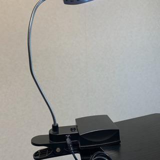 【美品】フック付きLEDライト(28個)可変スタンド - 家具