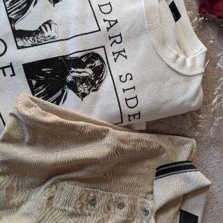 ダンロップ長袖ポロシャツ&スターウォーズトレーナー 3Lサイズ