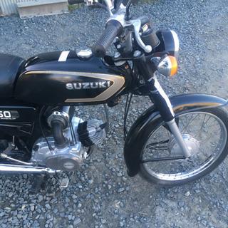 スズキ K50 レトロなバイク 機関好調