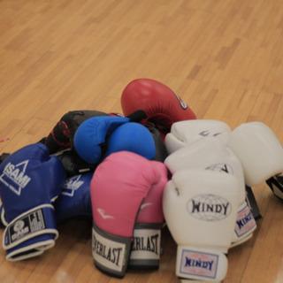 ボクシング、キックボクシングエクササイズ、ピラティス体幹トレーニング