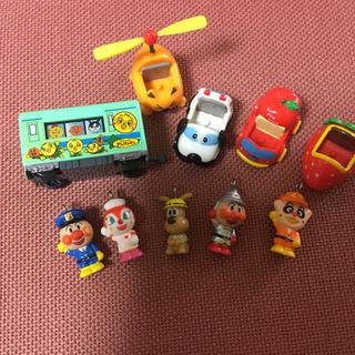 アンパンマンのおもちゃ、3枚分全部セット