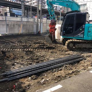 東京23区内木造解体。更地になるまで早いです。