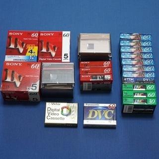 【未開封・未使用】miniDVテープ40本(60分×39本、30...