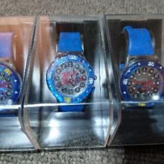 非売品 忍たま フラッシュ腕時計 コンプリート