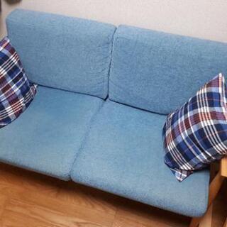 【直接受取のみ】SIEVE lull sofa 2人掛けソ…