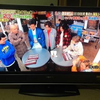 液晶テレビ40型 & テレビ台 (中古)