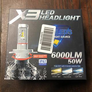 ほぼ新品未使用☆LED ヘッドライト 9006 HB4