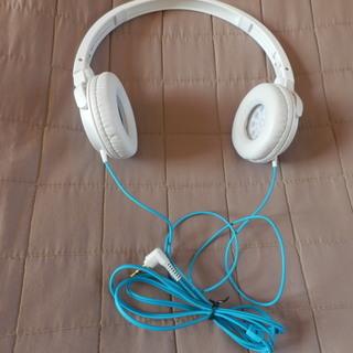 パイオニア ヘッドフォン SE-MJ512 ホワイト&ターコイズ...