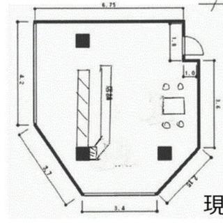 お洒落な鉄板焼き居抜きテナント♫希少1階角地物件♫JR明石駅まで...