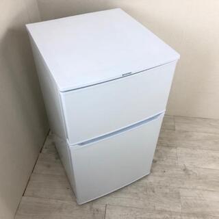 中古 高年式 90L 2ドア冷蔵庫 アイリスオーヤマ IRR-A...