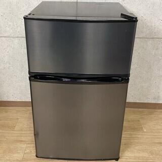 3*99 MAXZEN 2ドア冷蔵庫 90L JR090ML01...