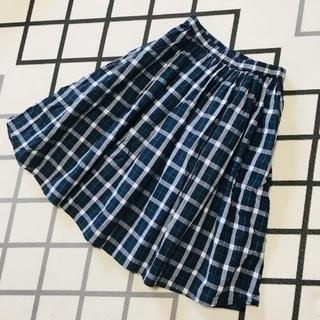 夏!チェックギャザースカート