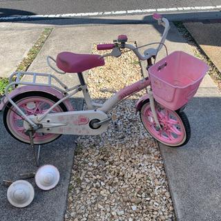幼児用自転車。メンテナンス必要です。