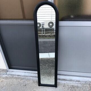 スタンドミラー 姿見 鏡 鉄枠 インテリア 家具
