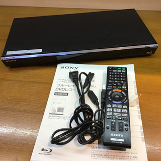 SONY  ブルーレイディスク DVDレコーダー BDZ-EW500