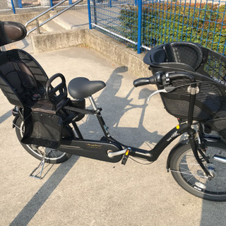【値下げ】ブリヂストン子供乗せ自転車 アンジェリーノ 20インチ