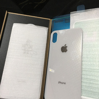 iPhone Xの背面ガラス