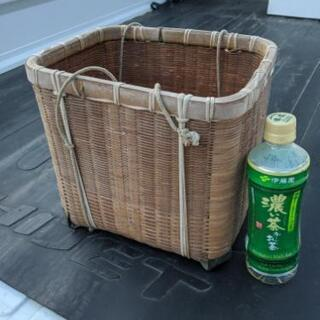 古い竹籠🧺