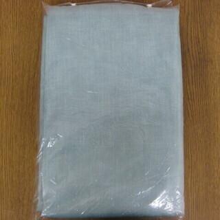 未使用品 遮光カーテン 巾100cm×丈178cm 2枚セット エメラルドグリーン 半間・テラス用 ウォッシャブル 防炎 防災 燃えにくい - 生活雑貨