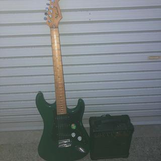 エレキギター、アンプセット