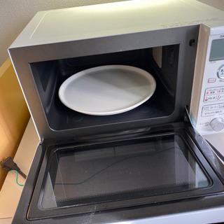 シャープ オーブンレンジ トースト機能付き 20L ホワイト R...