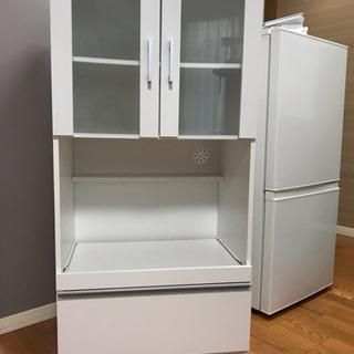 食器棚 ホワイト  3年未満使用 お値下げ可能