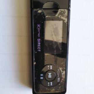 グリーンハウス MP3プレーヤー 黒色
