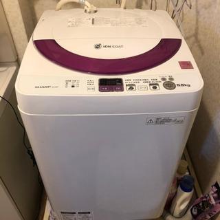 SHARP製 ES-55E9 洗濯機