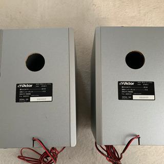 ビクター スピーカー コンポのスピーカーSP-UXQ1-S - 家電