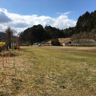 小学校の跡地を利用したバーベキュー場 - 吹田市