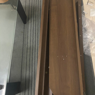 処分に困ってます💦ベッドだった木材 スノコ