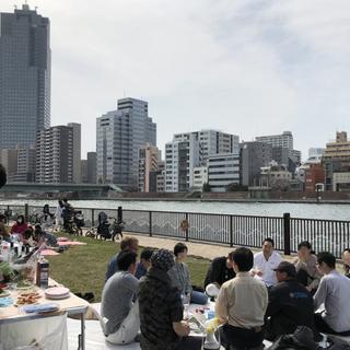 3月28日(日)隅田川・スカイツリー・桜を眺めながら… 🌸お花見ワイン会🌸  IN 月島 を自粛中止します。 − 東京都