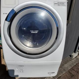 ナショナル national ドラム式 洗濯機 乾燥機 na-v...