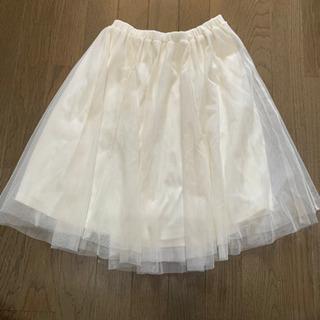 Honeys★レディース★スカート★ホワイト★