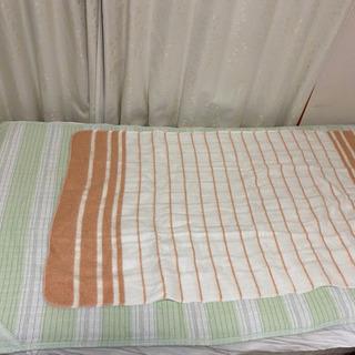 シングル用電気敷き毛布