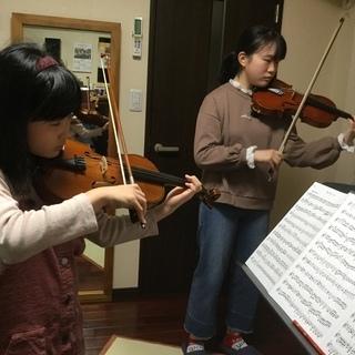 クラシックのバイオリン・ビオラ・フルート、ソルフェージュ教室