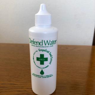 加湿器用の無添加空間除菌液 新品です!