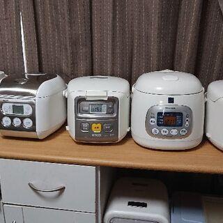炊飯器 3合炊き 各2000円