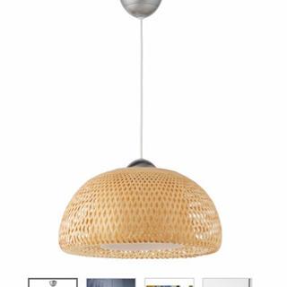 IKEA   ベイヤ ペンダントランプ, 竹 籐
