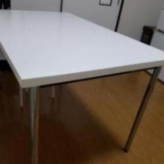 白いテーブル(当日キャンセルのため再出品) - 京都市
