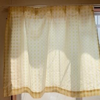 小窓用カーテン 2枚セット 期間限定値下げ