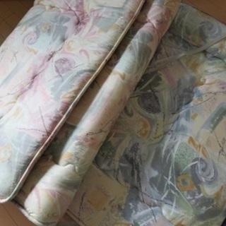 2セット★富士新幸の高級羊毛敷布団(マットレス)