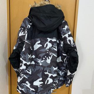 上州屋オリジナルGETTカモフラ柄透湿防水防寒ウインタースーツ上下