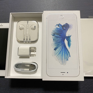iPhone 6s Plus Silver 128GB シルバー...